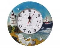 """Настенные кухонные часы """"Морской прибой"""""""