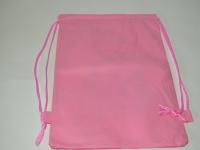 Розовый рюкзак для сменной обуви с Монстрами