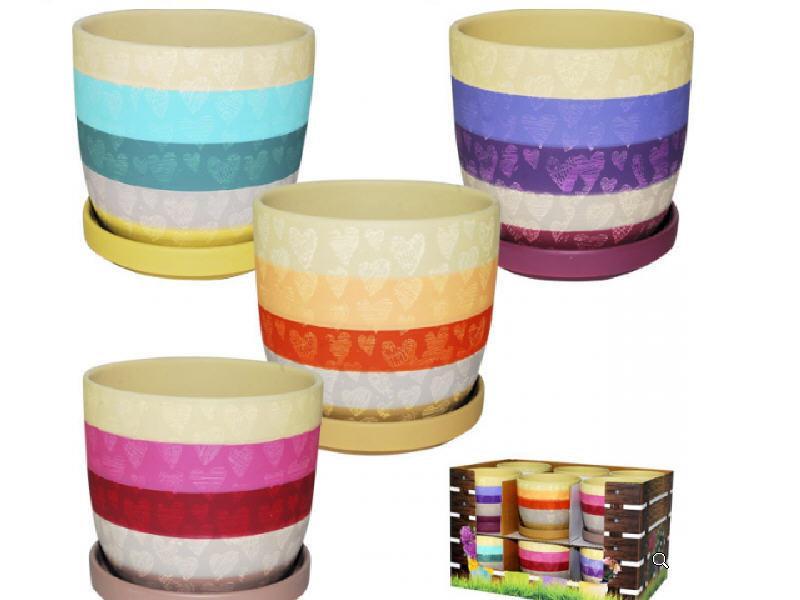 Горшки керамические для цветов купить оптом
