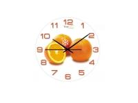 "Часы настенные кухонные  ""Апельсиновая сиеста"", Your Time"