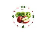 """Часы настенные кухонные  """"Яблочное настроение"""", Your Time"""