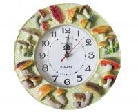 """Настенные кухонные часы """"Лесная поляна"""""""