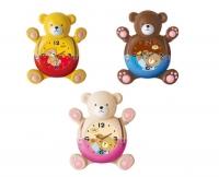 """Часы для детской комнаты с маятником """"Мишка"""""""