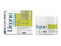 Увлажняющий крем против морщин для сухой кожи лица, Lirene