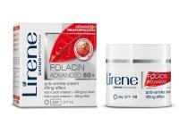 Крем-лифтинг дневной против морщин для лица, Lirene Folacin 50+  SPF 10