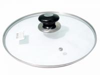 Стеклянная крышка для посуды 28 см