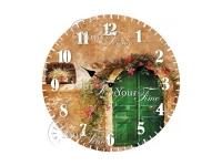"Часы настенные кухонные ""Смесь перцев"" Your Time"