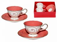 """Набор чайный """"Розовый коралл"""""""
