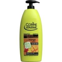 Шампунь с манго и кокосовым молоком для сухих и нормальных волос, Corine de Farme