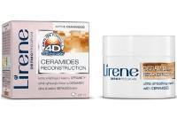 Крем с керамидами ультра разглаживающий 45+, Уход с 4D эффектом, Lirene