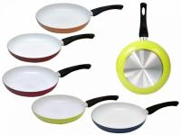 Сковорода с керамическим покрытием 26см