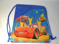 Синий рюкзак для сменной обуви с машиной