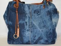 Джинсовая стильная женская сумка