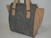 Модельная сумка с карманами