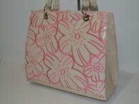Женская стильная сумка с бантом