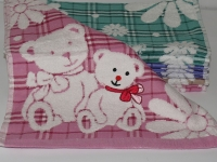"""Банное детское полотенце """" Мишка"""""""