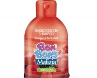 Шампунь-гель для душа лесные ягоды, Malizia Bon Bons, Mirato