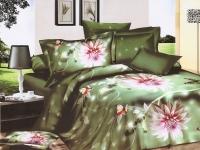 """Полуторное постельное белье, 3D  """"Вишневый Сад"""""""