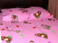 """Детское постельное белье """"Мишка розовый """""""