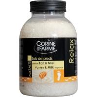 Соль морская для ног Молоко и Мед, Corine de Farme